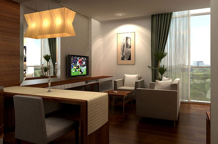livingroom di Aston Imperium Purwokerto Hotel & Convention Center