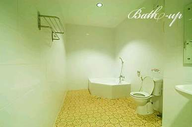 Bathroom di Hotel Sinar I
