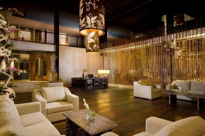 Lounge di Kupu Kupu Barong Villas and Tree Spa