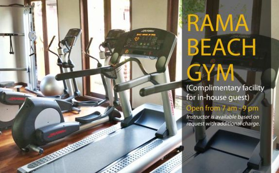 Fitness di Rama Beach Resort & Villas