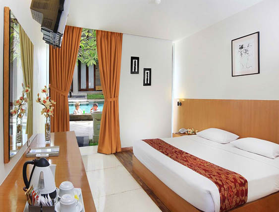 Deluxe Room di The Oasis Boutique Beach Resort & Spa