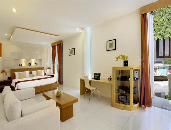 Suite di The Oasis Boutique Beach Resort & Spa