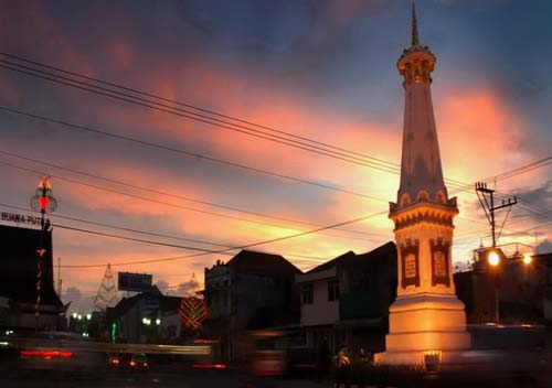 Jogja At Dawn